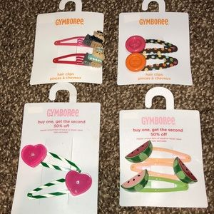 Gymboree Accessories - Gymboree Hair Clips- Brand New